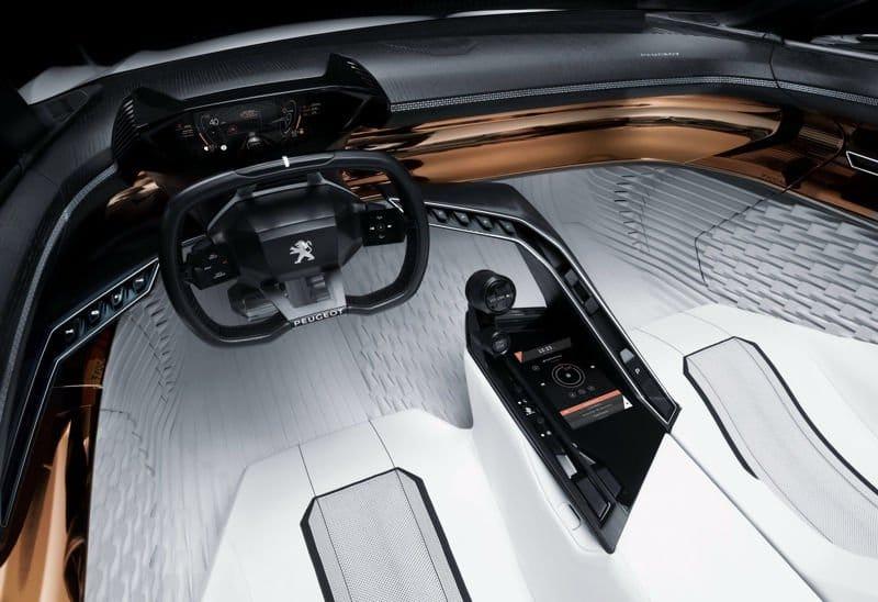 Peugeot-Fractal interior