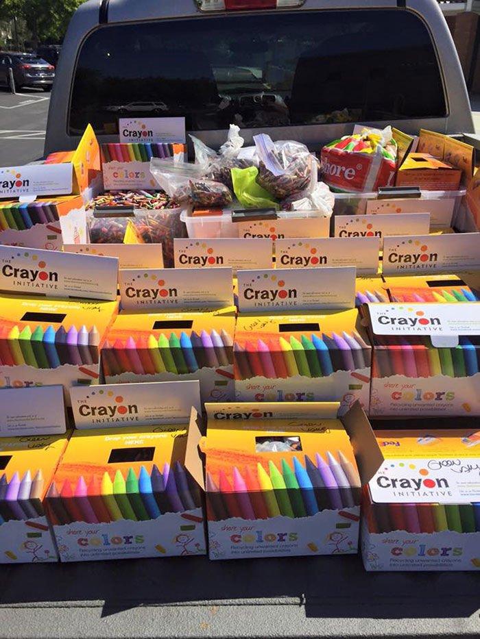 reutilizar los crayones sobrantes6