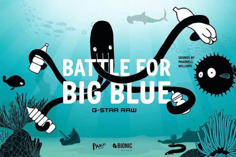 Battle for Big Blue, el juego de Pharrell Williams para limpiar los océanos