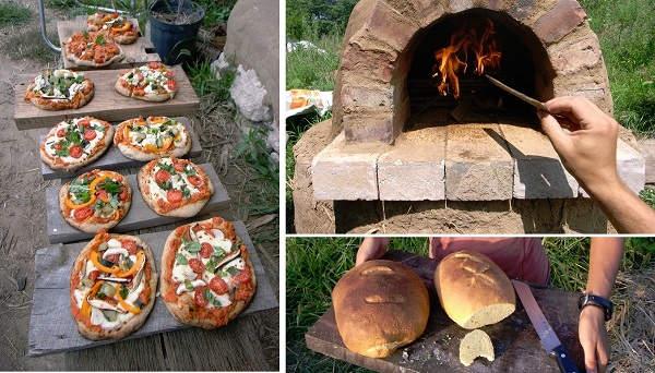 Cómo construir un horno de leña paso a paso