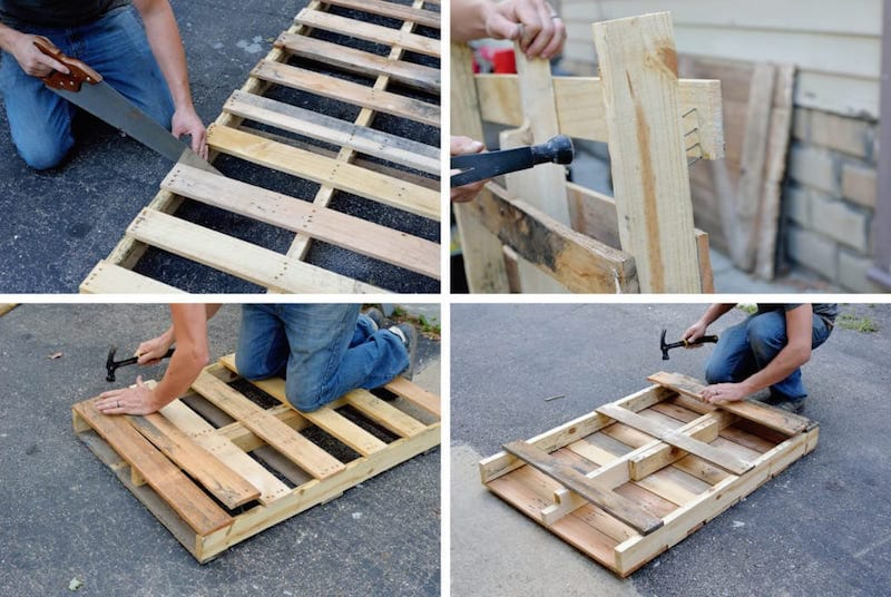 Como hacer una mesa con un palet2