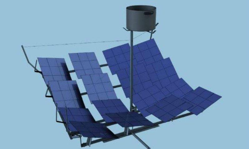 Concentrador solar gosol