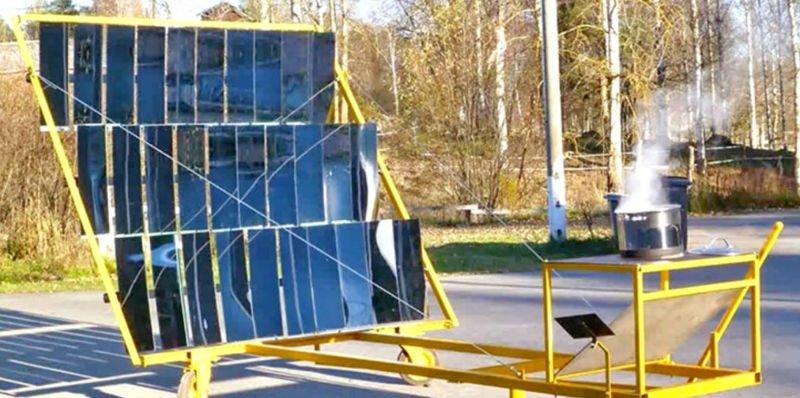 Como construir tu propio concentrador solar con la guía gratis de GoSol