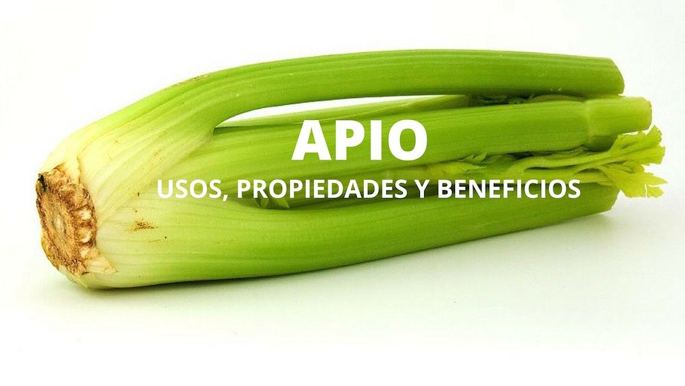 Apio beneficios