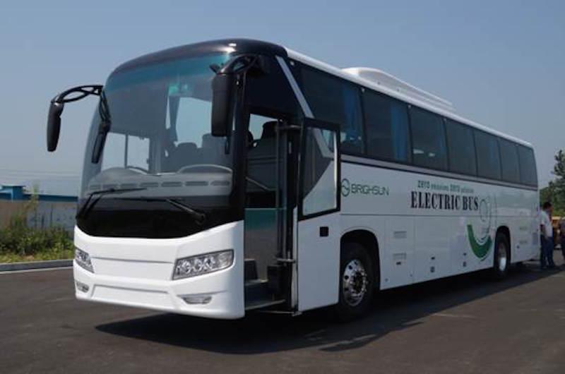 El autobús eléctrico Yuroke es capaz de recorrer hasta 1000 kilómetros con una sola carga