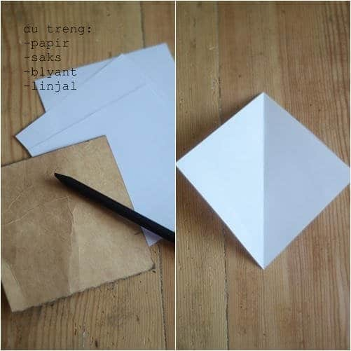 Como hacer estrellas con papel reciclado1