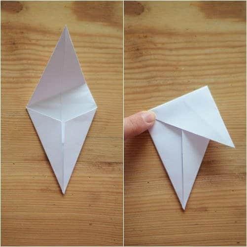 Como hacer estrellas con papel reciclado4