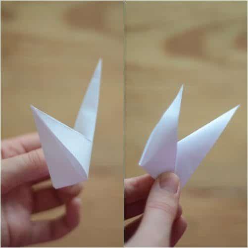 Como hacer estrellas con papel reciclado6