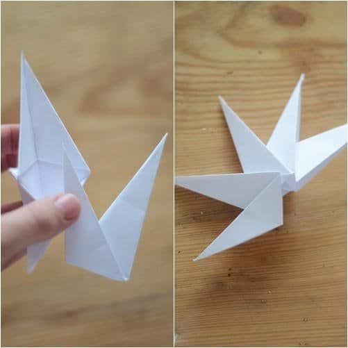 Como hacer estrellas con papel reciclado8