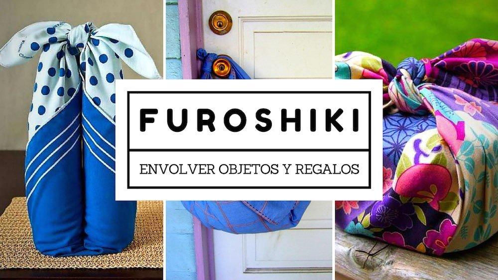 Maneras de envolver objetos y regalos con Furoshiki
