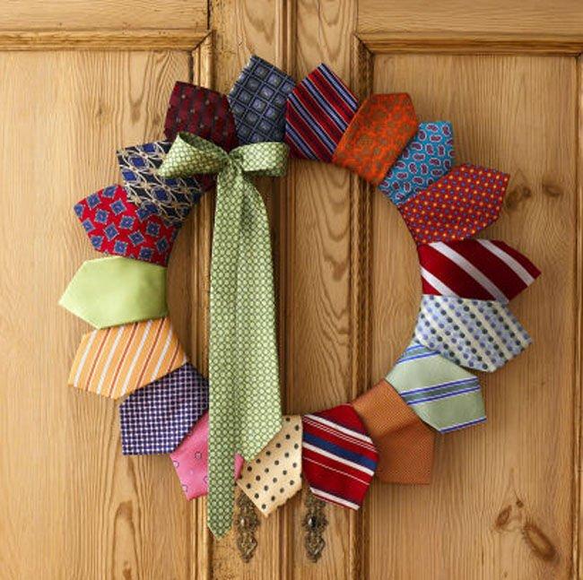 Guirnaldas con corbatas