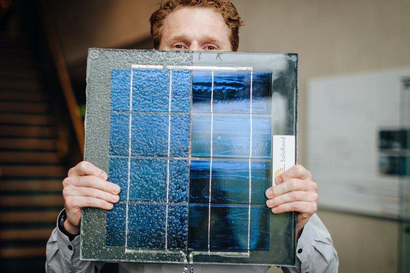 El primer carril bici solar del mundo genera más energía de lo esperado