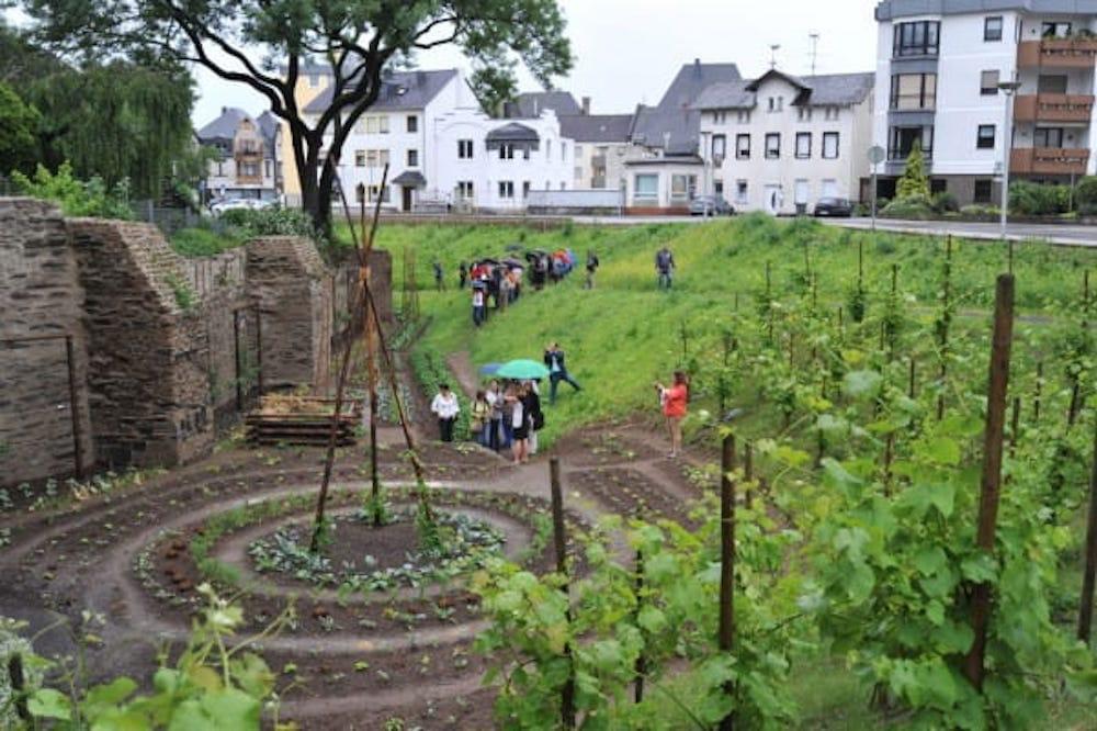 Andernach sustituye sus zonas verdes ajardinadas por huertos cuidados por los vecinos