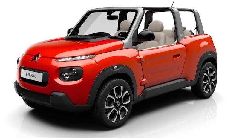E-Mehari, el nuevo modelo eléctrico de Citroën