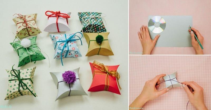 Como hacer una caja de regalo casera
