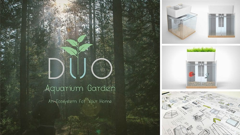 DUO Aquarium Garden. Un ecosistema para tu casa