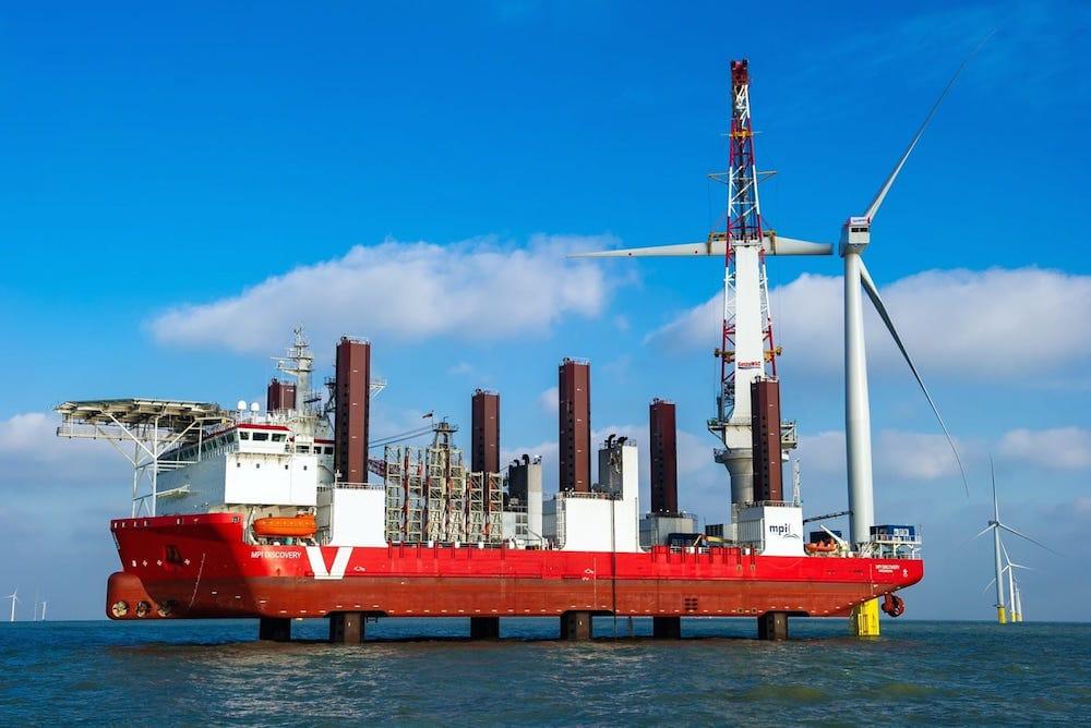 El mayor parque eólico marino del mundo