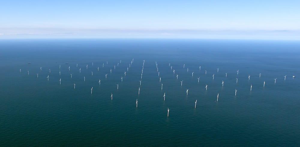 El mayor parque eólico marino del mundo a pleno funcionamiento