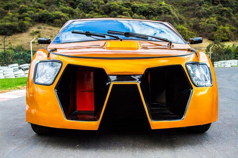 Eolo, el primer coche eólico 100 % colombiano