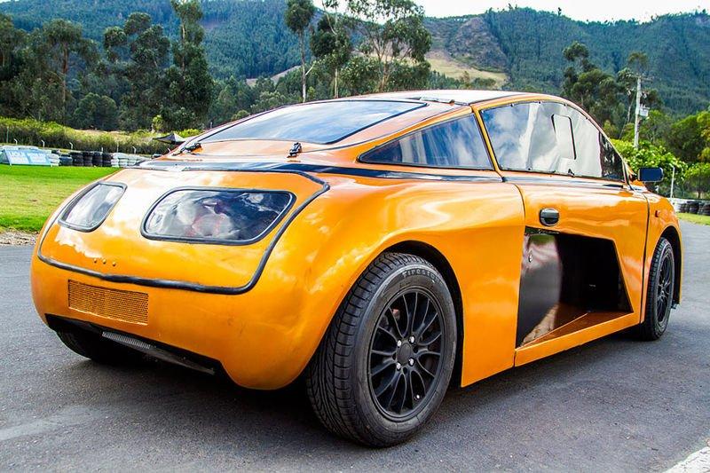 Eolo el primer coche eólico 100 % colombiano