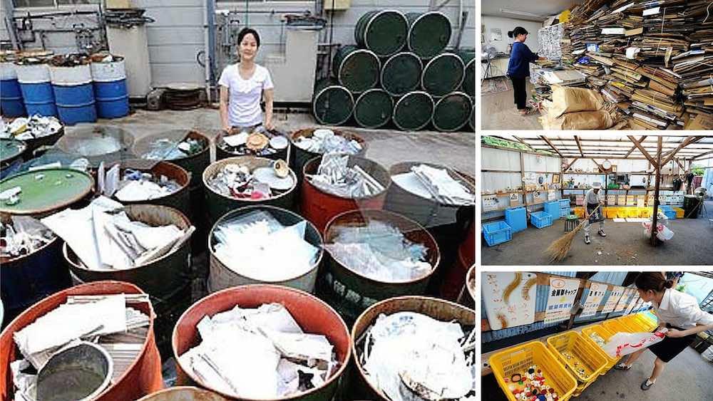 El pueblo Japonés que recicla el 90 % de los residuos que genera
