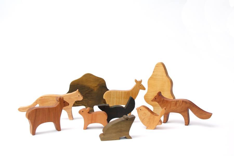 Lopa juguetes de madera