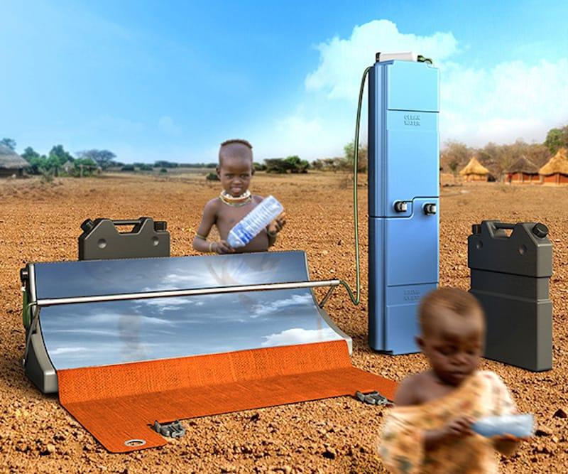Parabosol. Sistema solar portátil para la depuración de agua