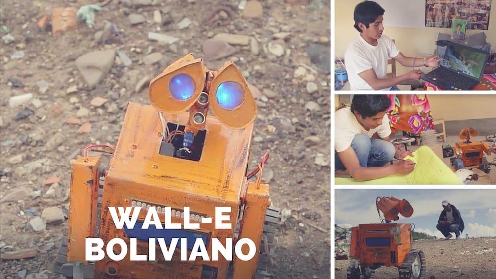 Wall-Ekitt, el robot creado por un humilde genio boliviano con desechos