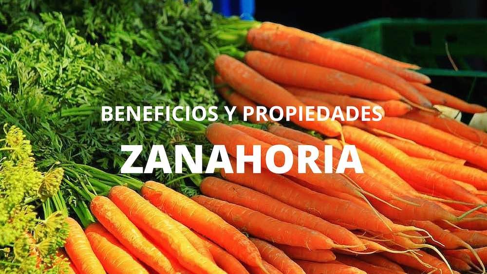 Zanahoria-propiedades
