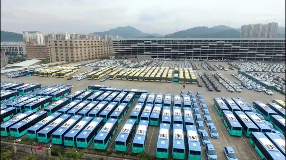 Milagro en Shenzen: 16.000 autobuses eléctricos en 6 años