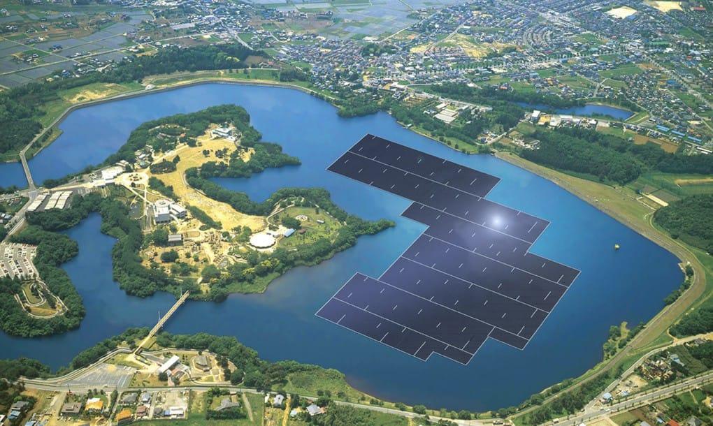 Kyocera inicia la construcción en Japón de la granja solar flotante más grande del mundo