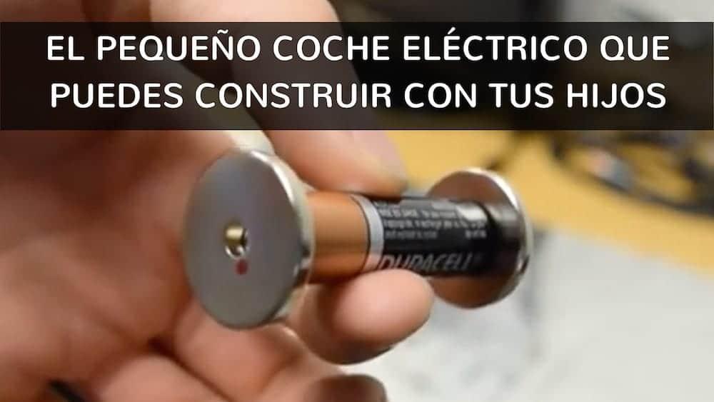 57fda149562 El pequeño coche eléctrico que puedes construir con tus hijos