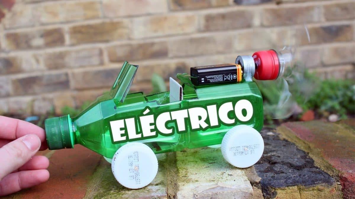 Como Hacer Un Coche Electrico Casero De Juguete