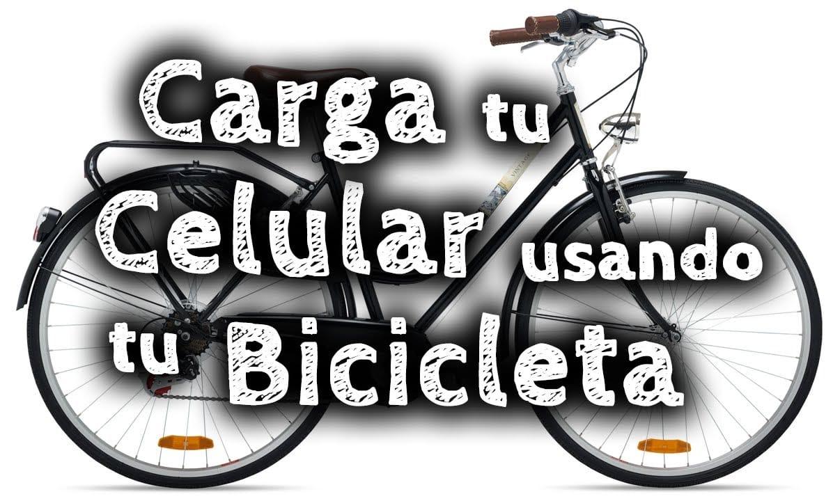 Cómo cargar tu smartphone mientras montas en bicicleta