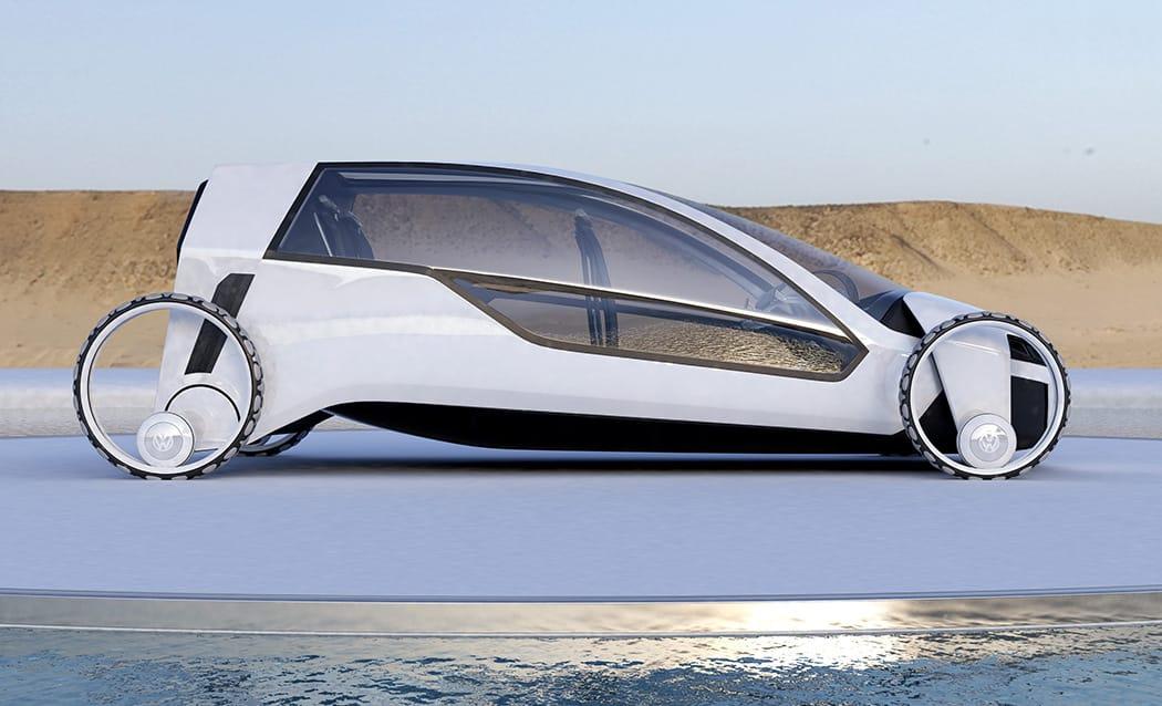 Coche solar Volkswagen3