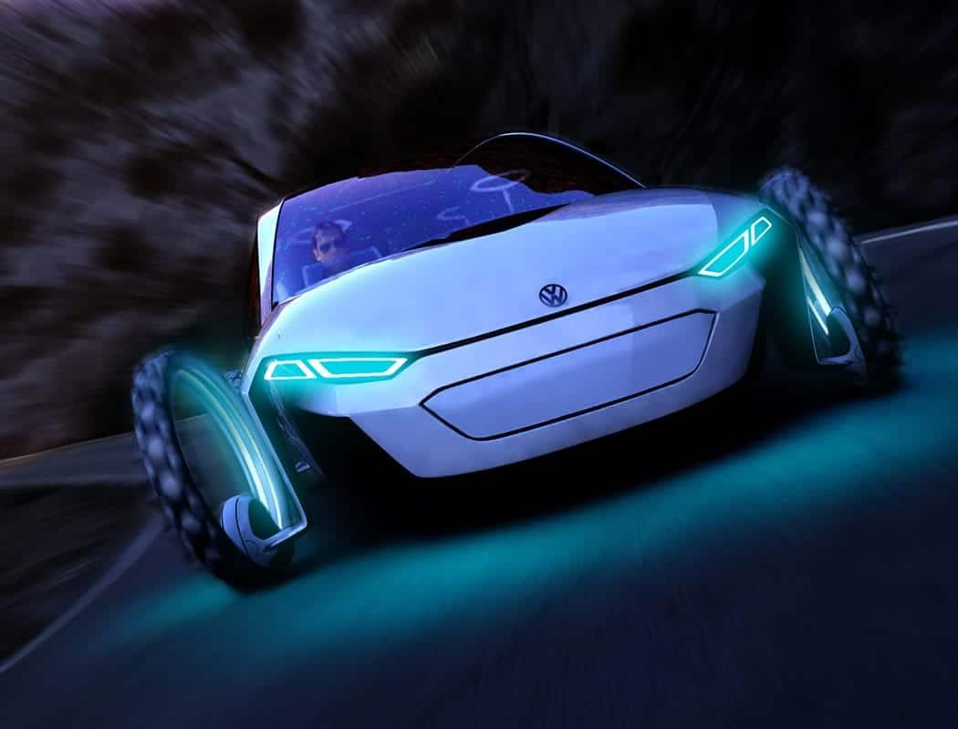 Coche solar Volkswagen9