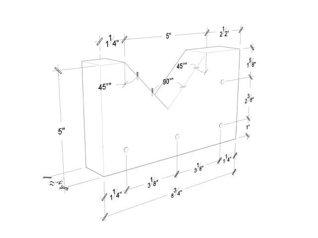 Dimensiones trituradora manual