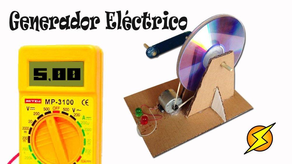 Como hacer un generador eléctrico casero