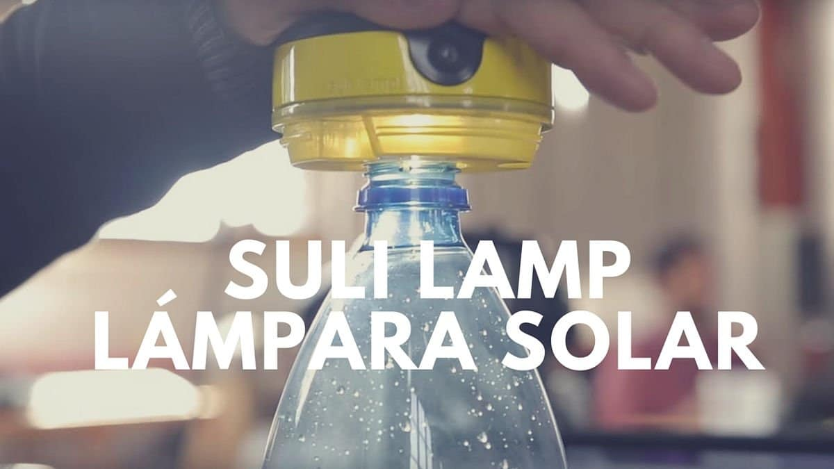 Suli Lamp, un módulo solar para zonas donde el acceso a la electricidad es casi imposible