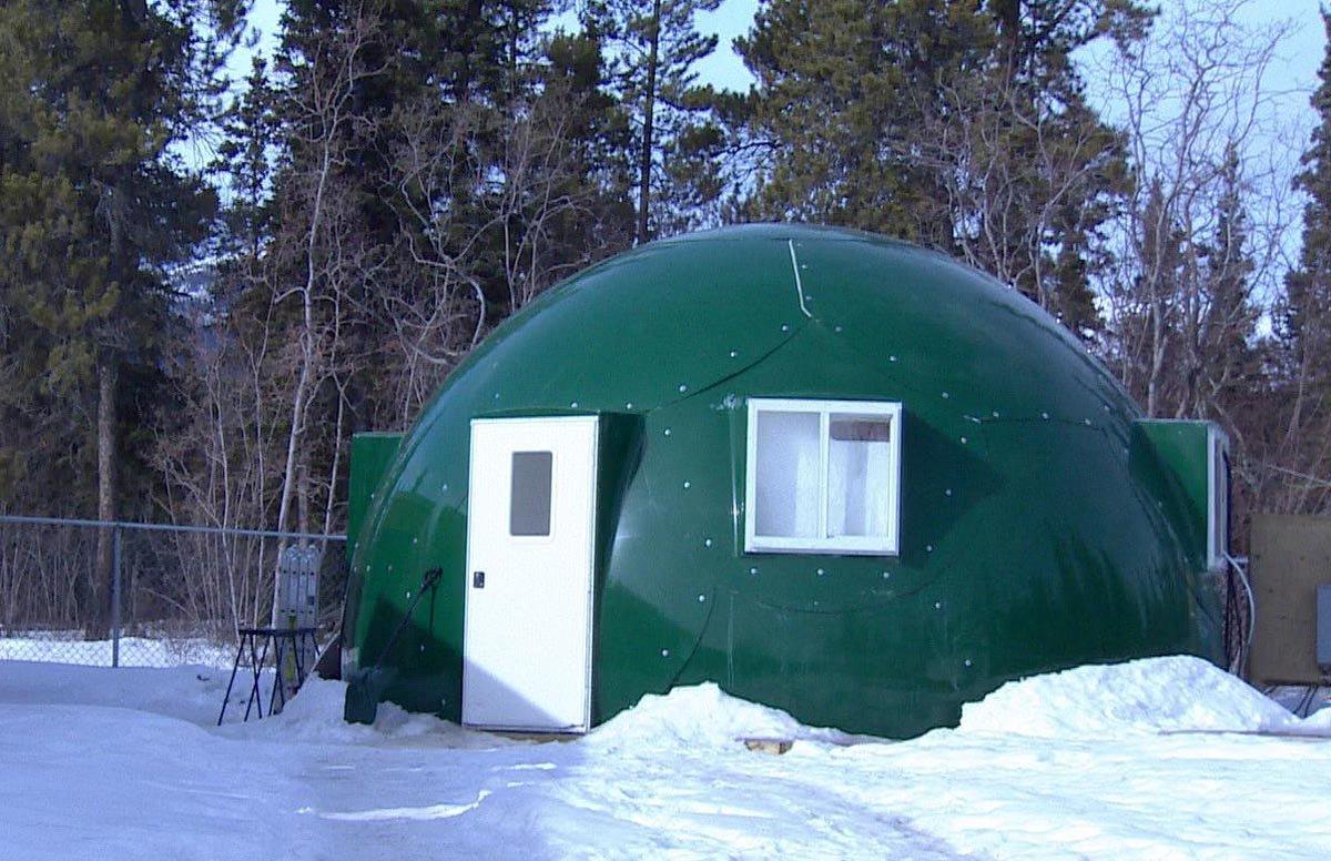 La cúpula verde que abre la puerta al cultivo en climas fríos