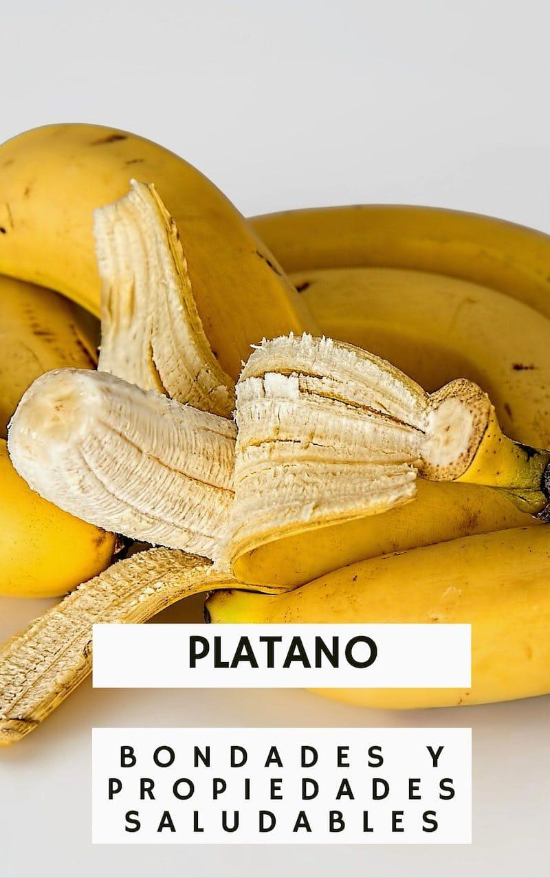 Descubre los grandes beneficios y propiedades del plátano para nuestra salud
