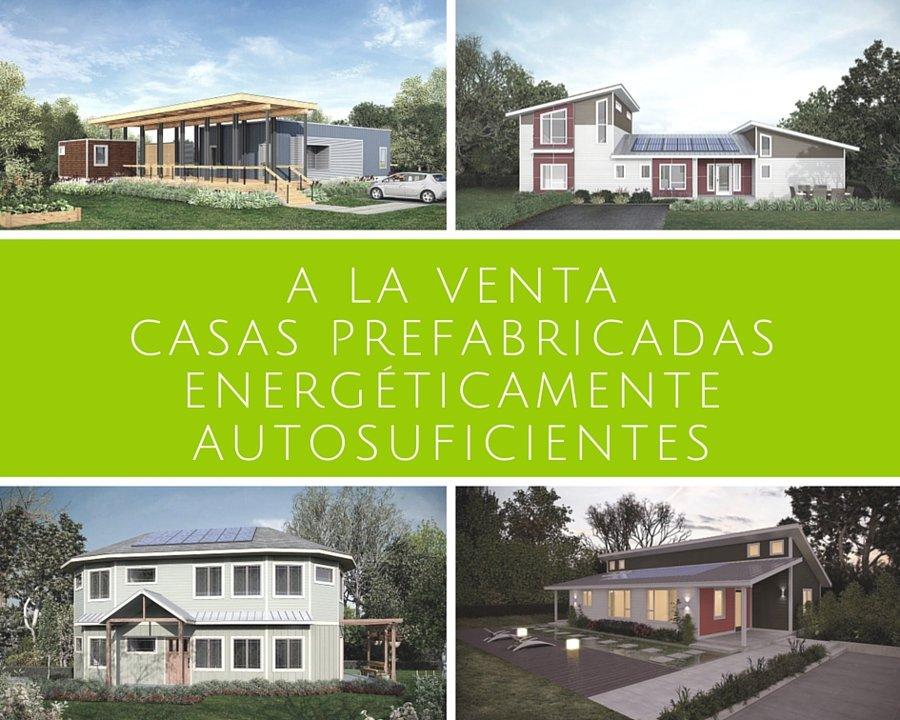 A la venta casas prefabricadas energ ticamente autosuficientes - Empresa de casas prefabricadas ...