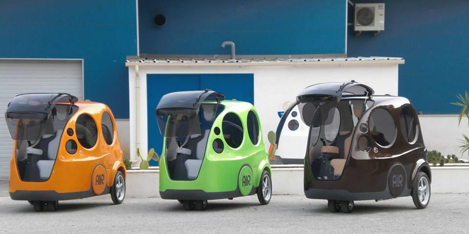 Airpod, el coche que funciona con aire comprimido