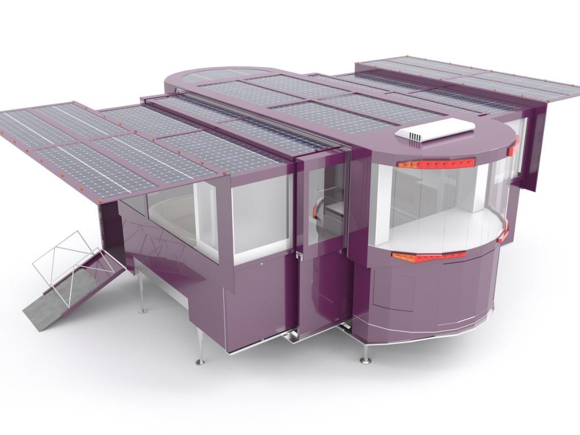 Casas solares extensibles: Las casas del futuro