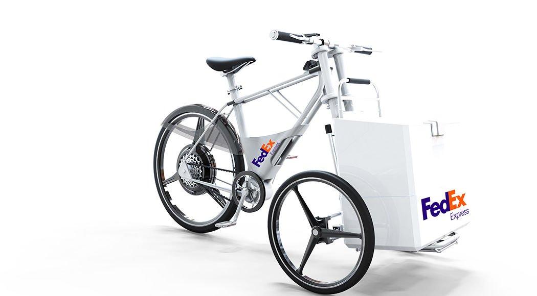 Diseño de bicicleta para el reparto de mercancias