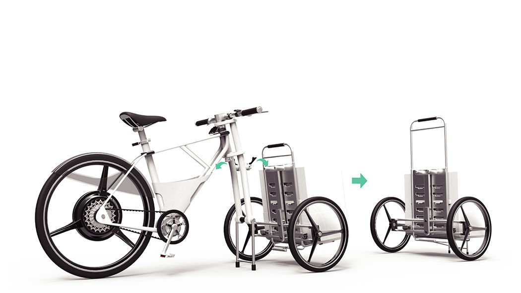 Diseño de bicicleta para el reparto de mercancias2