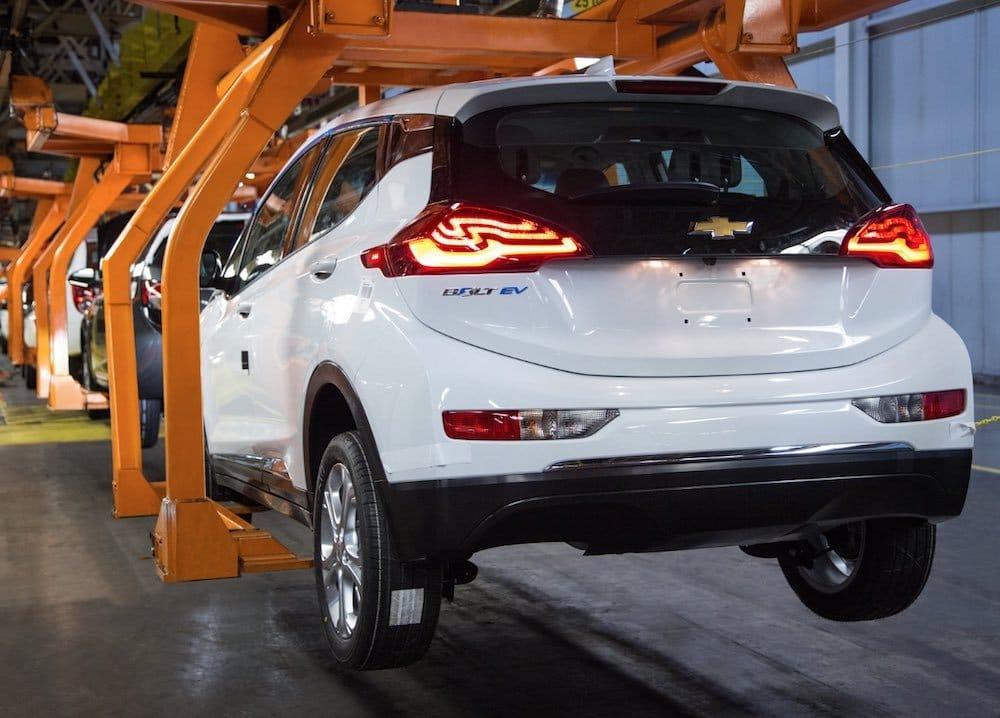 Nuevo Chevrolet Bolt en produccion