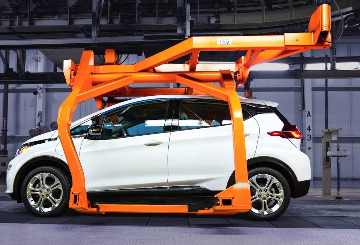 Nuevo Chevrolet Bolt en pre-producción