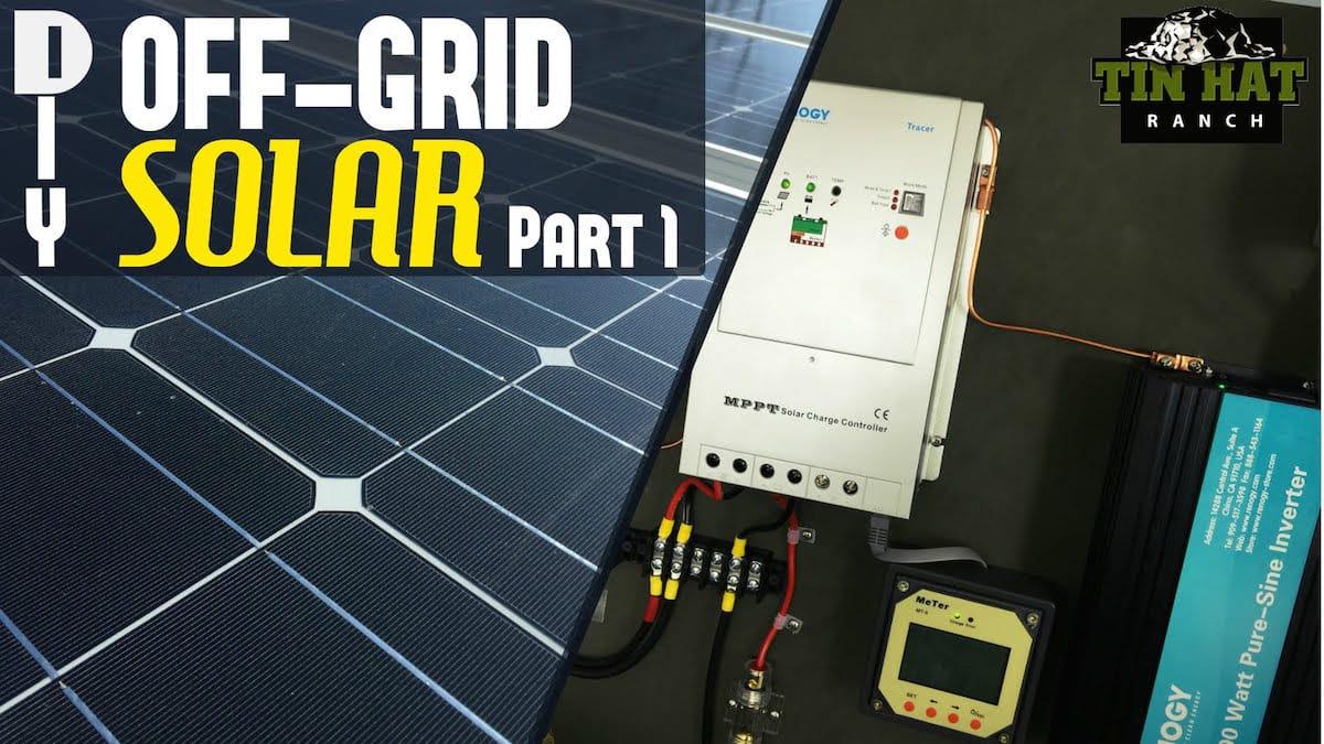 Curso para fabricar tu propia red eléctrica autónoma con energía Solar