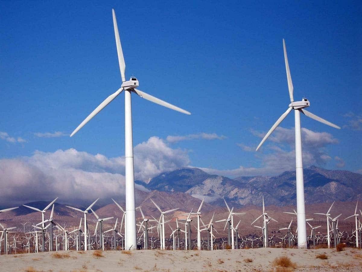 Top mundial de fabricantes de turbinas eólicas en el año 2015